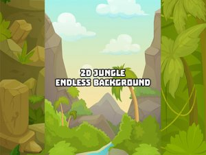 2D Jungle Background