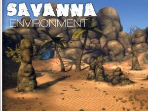 African Savanna Environment for free (unityassets4free)