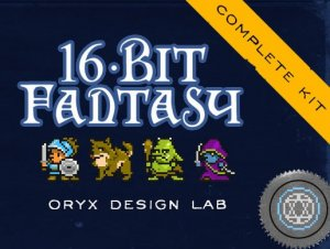 Read more about the article 16 Bit Fantasy Sprite Set