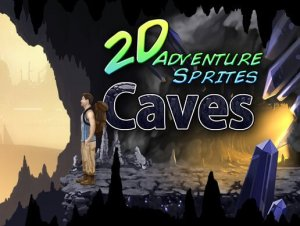 2D Adventure Sprites: Caves