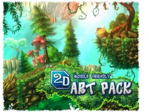 2D Art Pack for free (unityassets4free)