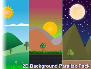 2D Background Parallax Pack for free (unityassets4free)