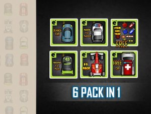 2D Car Complete Pack