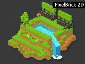 2D Dot PixelBrick Tile Parkage.1.0