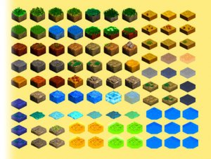 2D Isometric Tiles 2