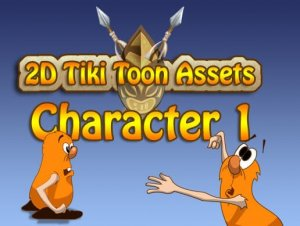 2D Tiki Toon Assets Character 1