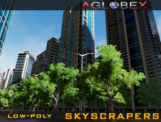 Read more about the article 53 Low-poly Skyscrapers (Day & Night)
