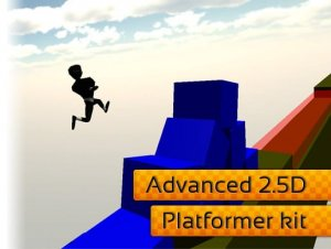 Read more about the article Advanced 2.5D platformer kit