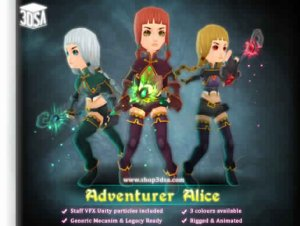 Adventurer Alice for free (unityassets4free)