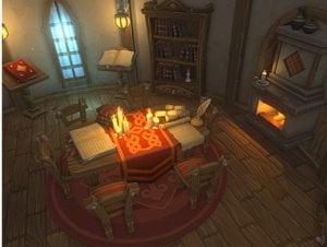 Alchemists House Interior for free (unityassets4free)