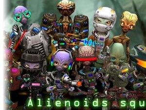 Alienoids Squad Pack