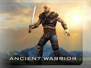 Ancient Warrior for free (unityassets4free)