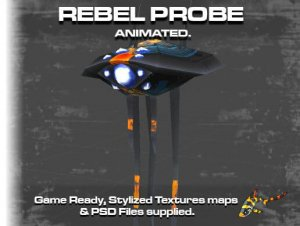 Animated Rebel Probe