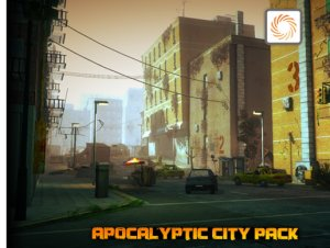 Apocalyptic City Pack for free (unityassets4free)