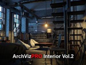ArchVizPRO Interior Vol.2 for free (unityAssets4free)