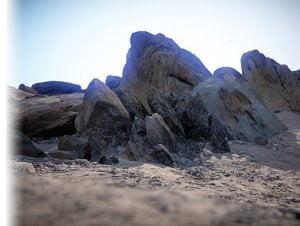 Arid Environment Rocks