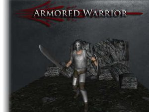 Armored Medieval Warrior for free (unityassets4free)