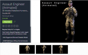 Assault Engineer (Animated) for free (unityassets4free)
