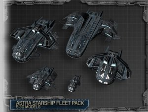 Astra Starship Fleet Package