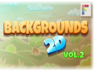 Backgrounds 2D Vol. 2 for free (unityassets4free)