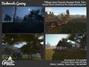 Read more about the article Backwoods Village Stamps for Gaia Vol 1