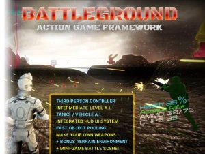 Battleground Game Framework