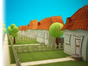 Bee Garden 3D Models