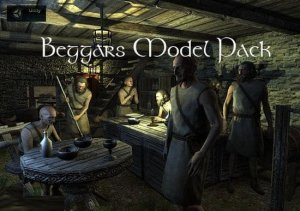 Beggars Model Pack for free (unityassets4free)