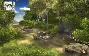 Big World – World of Tanks Game engine