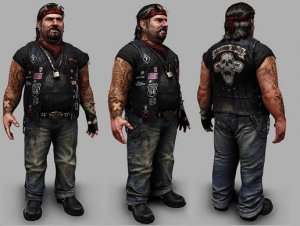 Biker Character for free(unityassets4free)
