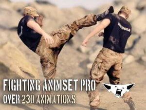 Fighting Animset Pro