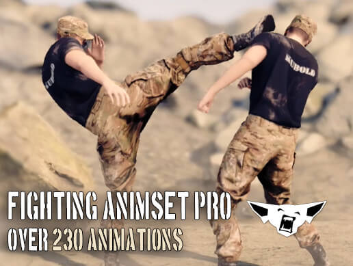 Fighting Animset Pro