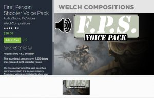 first person audio pack