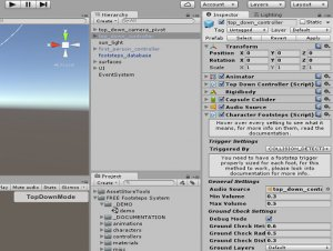 Free Footsteps System for free (unityassets4free)