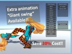 HQ Fighting Animation vol.1~10 assortment