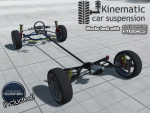 Kinematic Car Suspension – Sport Car