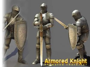 Medieval Knight for free (unityassets4free)