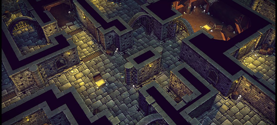 Read more about the article Modular Dungeon Set | Dead End Pack