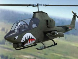 PBR Attack Helicopter of the Vietnam War Era