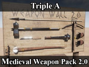 PBR Medieval Weapon Pack 2.0