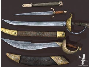 Pirate Swords for free (unityassets4free)