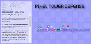 Pixel Tower Defense Prototyper