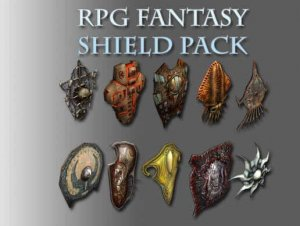 RPG Fantasy Shield Pack for free (unityassets4free)