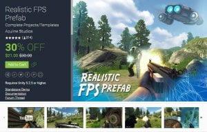 Realistic FPS Prefab