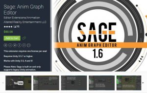 Sage Anim Graph Editor