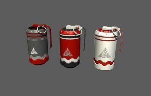 Sci-Fi Grenades for free (unityassets4fee)