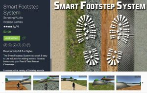 Smart Footstep System for free (unityassets4free)
