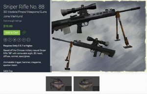 Sniper Rifle No. 88