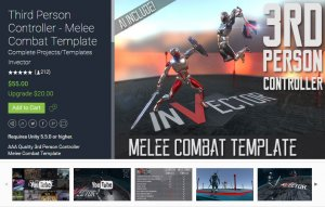 Third Person Controller Melee Combat Template