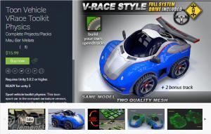 Toon Vehicle VRace Toolkit Physics